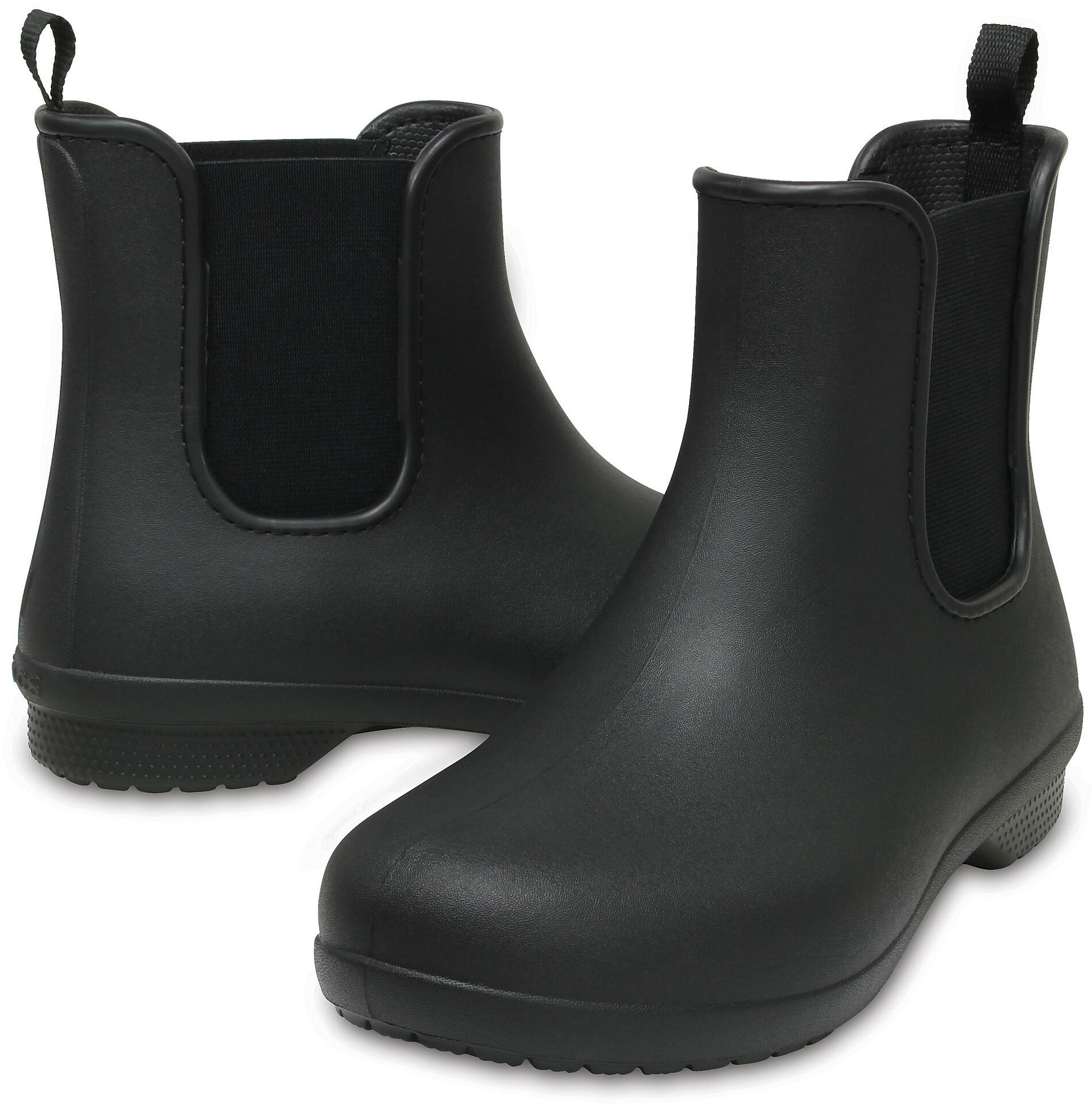 Crocs Freesail Chelsea Boots Dames, navynavy l Online